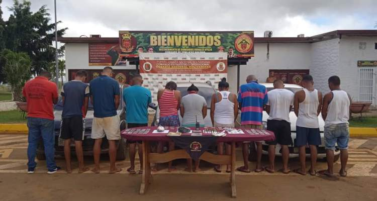 GNB capturó a 11 integrantes del GEDO El Perú