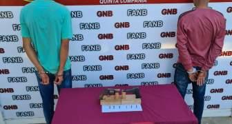 GNB desmantela banda delictiva Los Cobreros