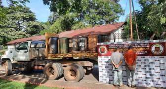 GNB incauta más de 4.600 litros de combustible