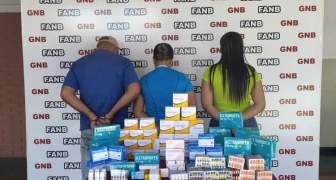 GNB desmantela grupo delictivo de tráfico de medicinas en el estado Bolívar