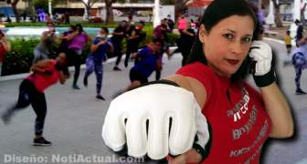Instructora LINDA FITCOMBAT
