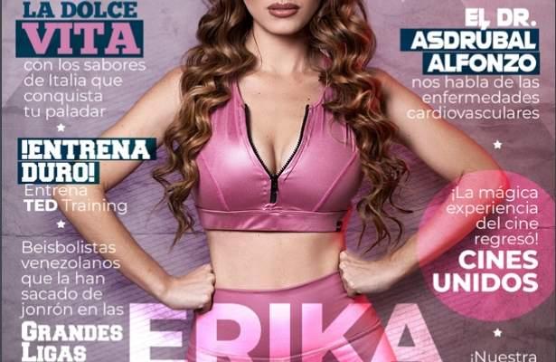 Portada ppal Erika G Sport Magazine