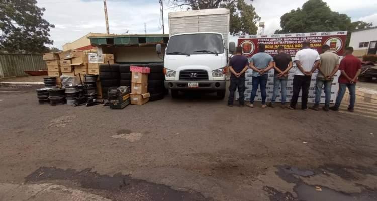 GNB desarticuló banda Los Pavitos