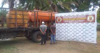 GNB decomisa 7 mil litros de combustible en el estado Bolívar
