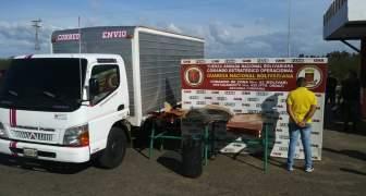 GNB detiene a ciudadano que transportaba material estratégico