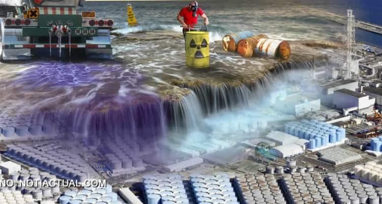 JAPON FUKUSHIMA RADIACTIVE WATER