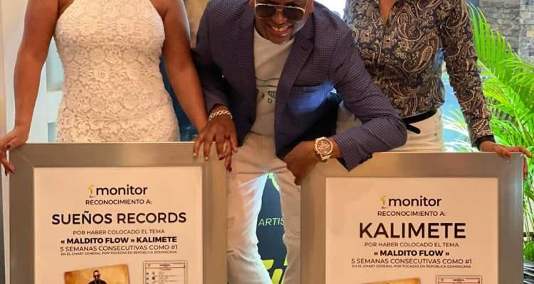 Monitor Latino reconoce a Sueños Records y Kalimete