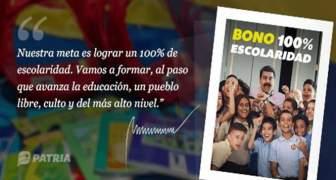 bono 100 Escolaridad correspondiente a mayo