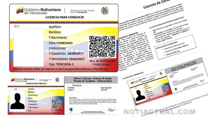 COMO SACARSE LA LICENCIA DE CONDUCIR 2DA 3ERA 4TA 5TA RENOVACION INTT VENEZUELA TRAMITE AUTOMATIZADO