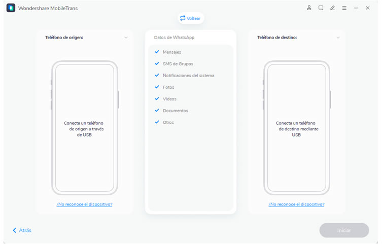 Cómo hacer una copia de seguridad de WhatsApp entre Android y iOS 2
