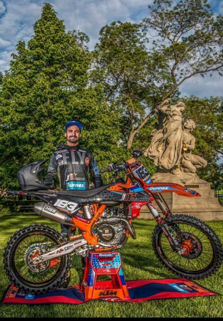 LORENZO LOCURCIO INTEGRA EL EQUIPO CHECO JD GUNNEX KTM RACING TEAM