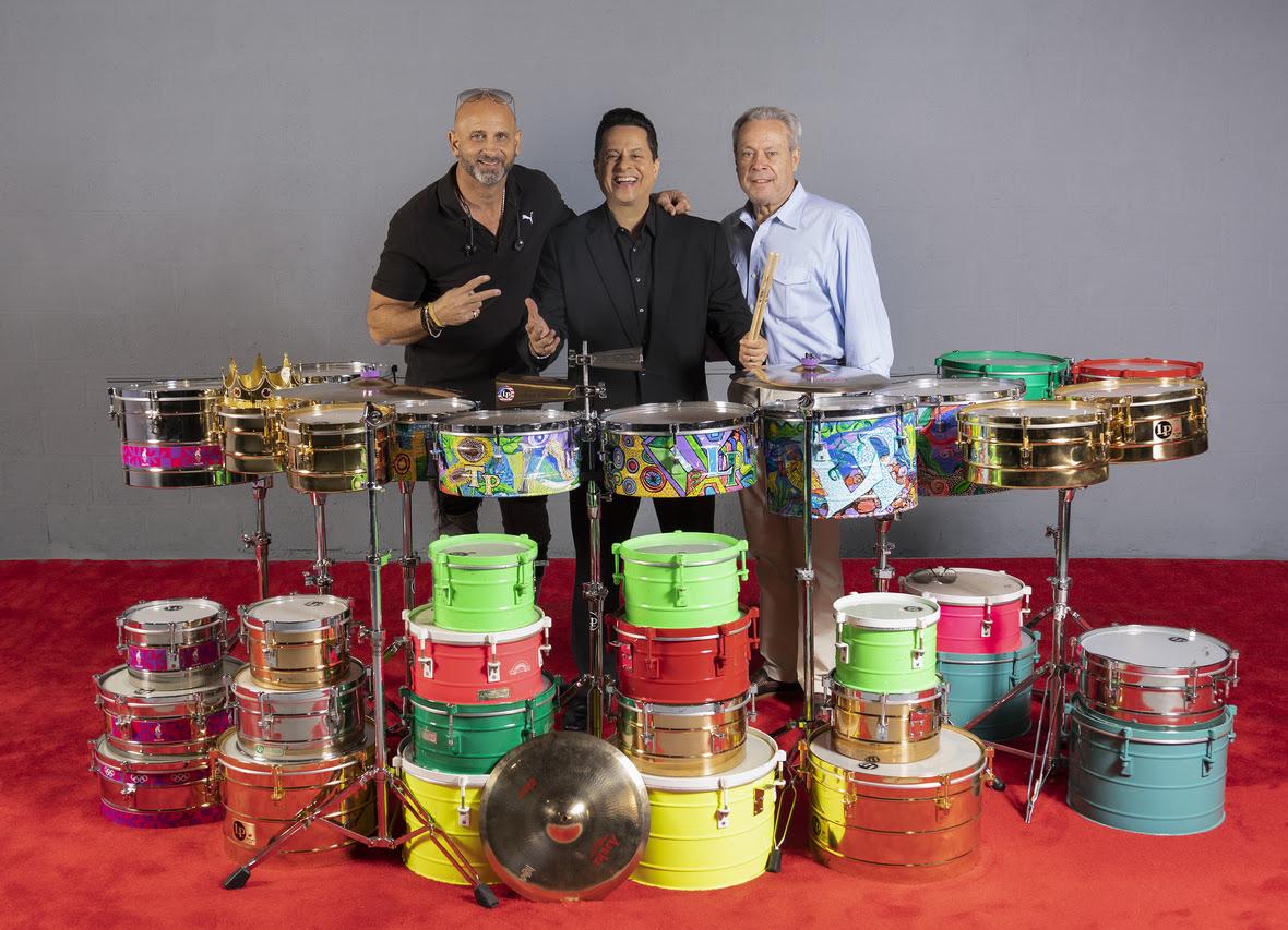 Marlow Rosado, Tito Puente Jr. y Ángel Carrasco
