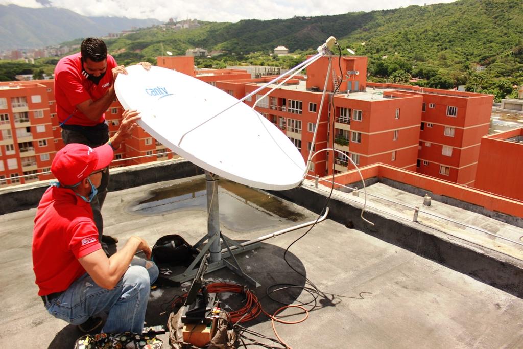 Cantv Televisión Satelital llega a 227.254 hogares de todo el país (