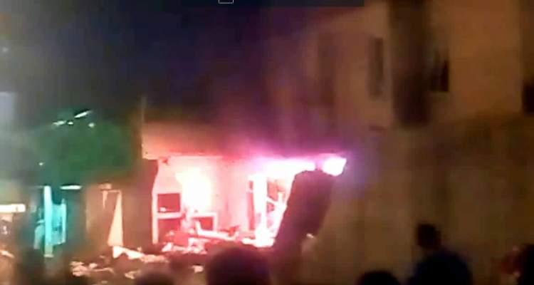 EXPLOSION DE UNA CASA EN MONTE BELLO MARACAIBO TEOTISDE GALLEGOS