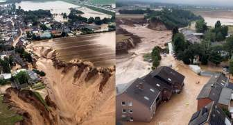 Inundaciones en Alemania Cambio Climatico 2021 intenso calor y lluvias