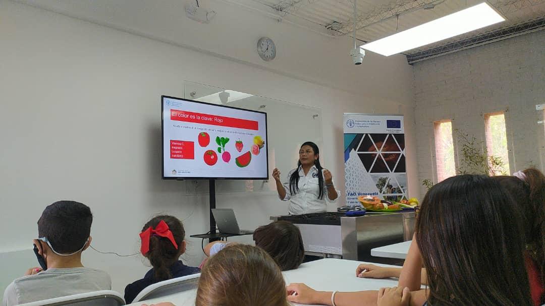FAOVE conferencia sobre la importancia de las frutas y las verduras (1)