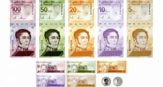 CUALES SON LOS BILLETES Y MONEDAS VIGENTES EN VENEZUELA