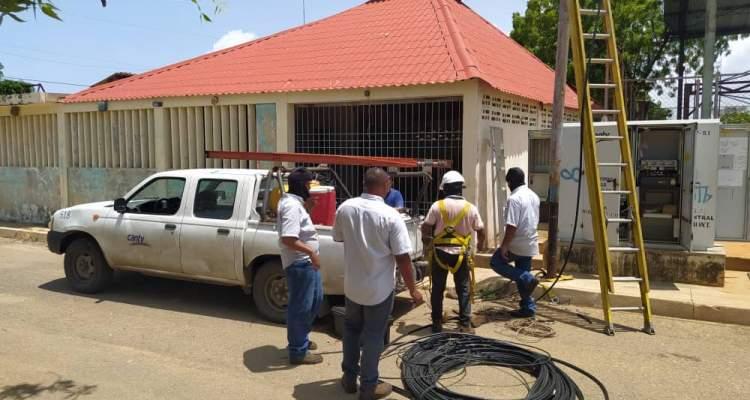 Cantv restableció servicios en la urbanización Los Compatriotas de Maracaibo