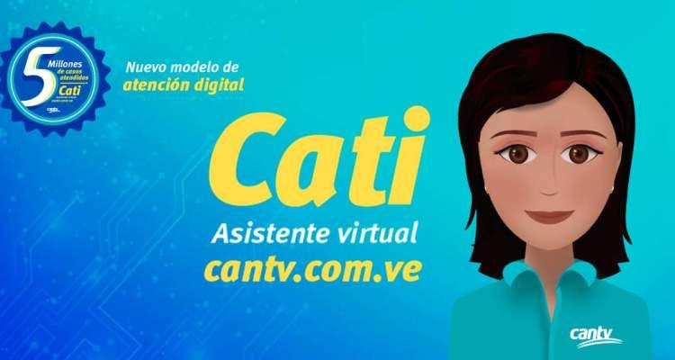 Cantv supera los 5 millones de casos atendidos a través de Cati