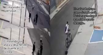 asesinan a ciclista en mcbo